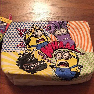 USJ Minions Halloween Exclusive Pouch Bag Kyle Eagle Bob Japan Limited Rare Gift - Minion Halloween Bags