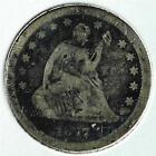 Silver Seated Liberty US Quarters (1838-1891)