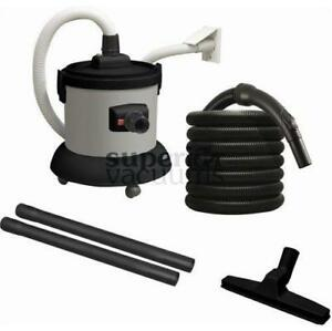 Central Vacuums Interceptor, Wet & Dry 3 Gallon Plastic With Hose & Tools