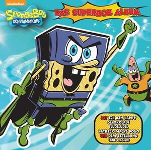 SpongeBob - Das SuperBob Album von SpongeBob Schwammkopf (2015) -- CD  NEU & OVP