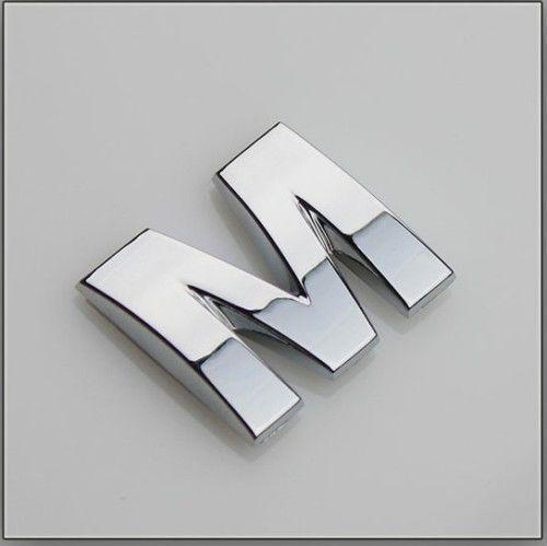 chrome letters decal ebay With chrome letter stickers