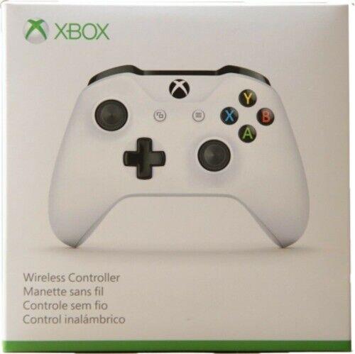 Microsoft Wireless Controller for Xbox One/Windows 10 - White (TF5-00001)