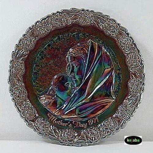 Fenton Mothers Day Plate Ebay
