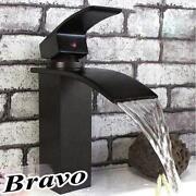 Black Waterfall Faucet