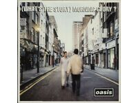 MEGA RARE WHAT'S THE STORY MORNING GLORY OASIS DAMONT PRESSING NEAR MINT CONDITION VINYL LP