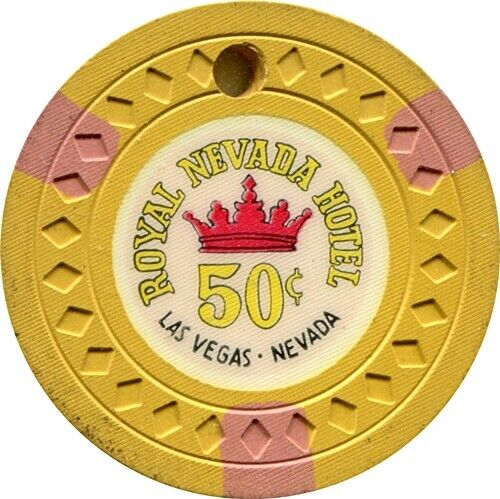 Royal Nevada, Las Vegas $.50 Casino Chip