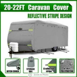 22-24ft Waterproof 4 Layer Caravan Campervan Cover Heavy Duty w/ Dandenong South Greater Dandenong Preview