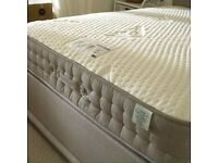 Milk Vitality 2000 Pocket Sprung Latex Memory Foam Mattress - UK Double..NEW.. Can Deliver