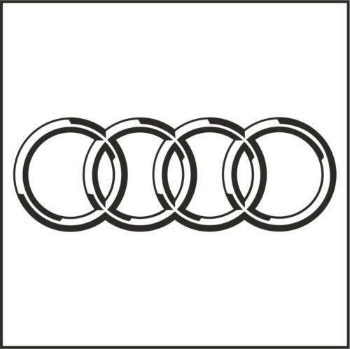 Car With Rings Logo