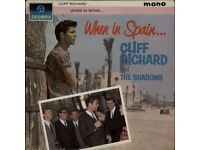 Cliff Richard When In Spain vinyl album