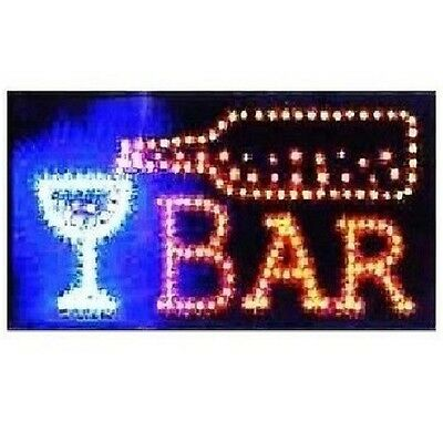 Animated Motion Led Restaurant Cafe Bar Club Sign Onoff Switch Open Light Neon