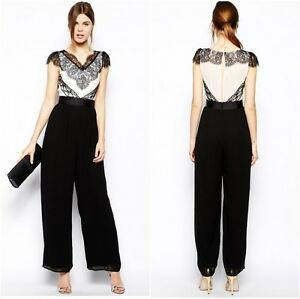 Similiar Black And White Party Jumpsuit Keywords