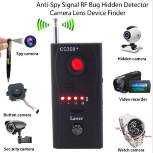Spy Bug detect and locate any wired, wireless hidden camera /GPS