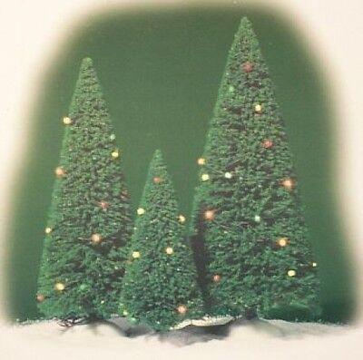 Dept 56 Village Twinkling Lit Trees Light Green D56 NEW Christmas Village 52823
