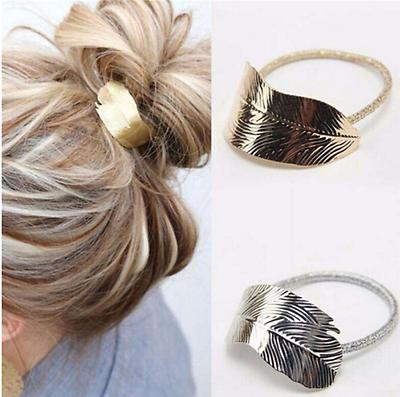 Haargummi Haarschmuck Spange Cleopatra Haircuff Haarring Feder Haarband Ethno