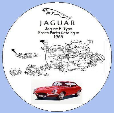 Jaguar E Type 4.2 Grand Touring Models Spare Parts Catalogue