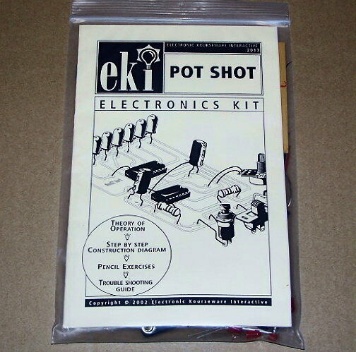 POT SHOT vintage EKI electronic project UNBUILT science skil