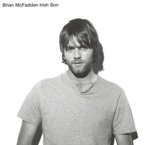 BRIAN MCFADDEN IRISH SON CD Album EX/EX/MINT