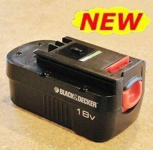NEW! Black & Decker 18V 18 Volt Slide-Style BATTERY HPB18 w/ B&D 2-Year Warranty