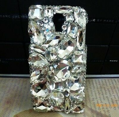 3D Crystal Diamond BLING Hard Case Phone Cover For Samsung Galaxy Note 3 NEW O2 on Rummage