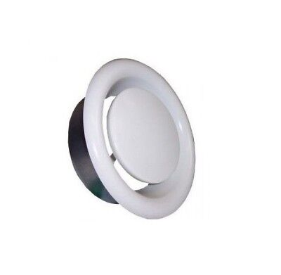 Metal Ceiling Exhaust / Supply Valve Diffuser Soffit Duct Hose Air Vent Grille - Metal Supply Grille