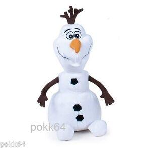 Stofftier Disney die Schneekönigin OLAF sitzend weich 30 cm Frozen weich 27919 Film- & TV-Spielzeug