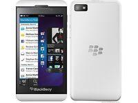 Blackberry Z10. Unlocked. White. As new. £65. Fix price