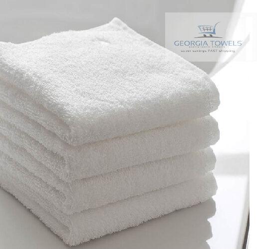 5//10PCS WHITE 100/% COTTON  HAND TOWELS 30*30cm 25*25cm SALON SPA HOTEL TOWELS