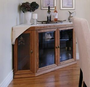 CORNER DISPLAY CABINET / TV STAND