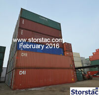 40' High Cube Cargo Worthy Storage / Shipping Containers $2,195