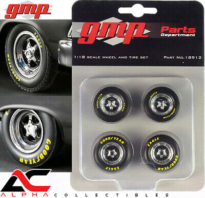 1:18 GMP Pontiac GTO Wheel//tire set