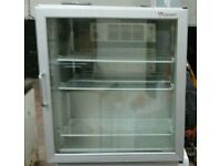 Caravel display Fridge, Commercial drinks cooler with glass door