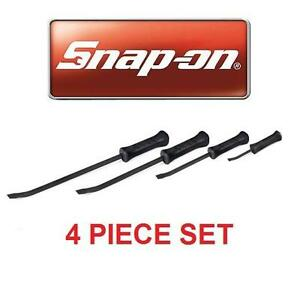 NEW SNAP-ON 4PC STRIKING PRYBAR SET General Hand Tools Prybars Prying  Striking Prybars 105907362