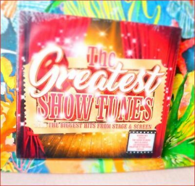 3xCD New SEALED Fast Freepost The Greatest Show Tunes Hits from Stage & Screen