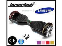 HOVERBOARD SWEGWAY BALANCE BOARD ELECTRIC SCOOTER LED BLUETOOTH SAMSUNG