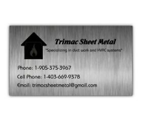 Trimac Sheet Metal (Duct and Ventilation) Peterborough Peterborough Area image 4