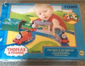 "Tony Thomas & Friends ""Pull Back N Go"" set"