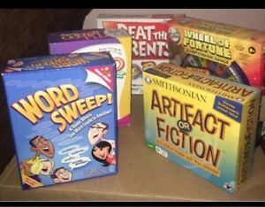 Board games just like new