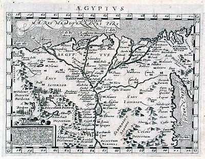 Antique map, Aegyptus