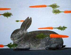 Chee Yong Painting Dreaming of carrots Bridport Dorset Area Preview