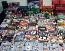 SYDNEY-WANT TO BUY NINTENDO 64 or GAMECUBE GAMES + CONSOLES for CASH $ Sydney City Inner Sydney Preview