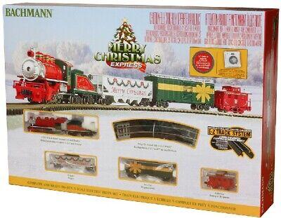 Bachmann 24027 Merry Christmas Express N Gauge Steam Starter Train Set