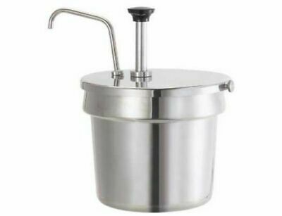 Server - 83220 - Stainless Steel Pump For 7 Qt Insets Condiment Syrup Pump Only