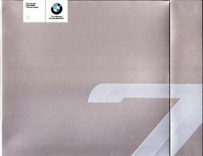 2009 09 BMW 7 Series  Original Sales Brochure