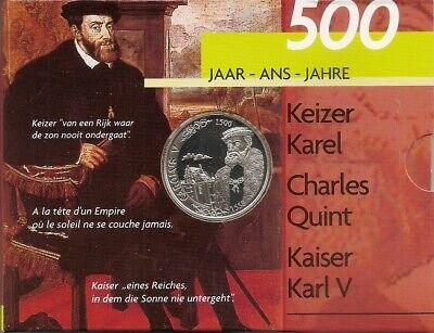 500 frank 2000  KEIZER KAREL * QP-SET * ALBERT II * nr 5533