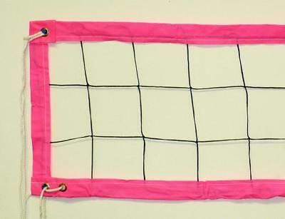 JFN PINK & BLACK POOL VOLLEYBALL NET, 1' x 14'