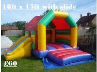 Bouncy castle hire, softplay hire