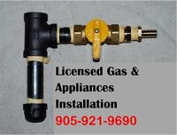 BBQ,GAS LINE,AC,HOME APPLIANCES INSTALL:LICENSED,INSURED