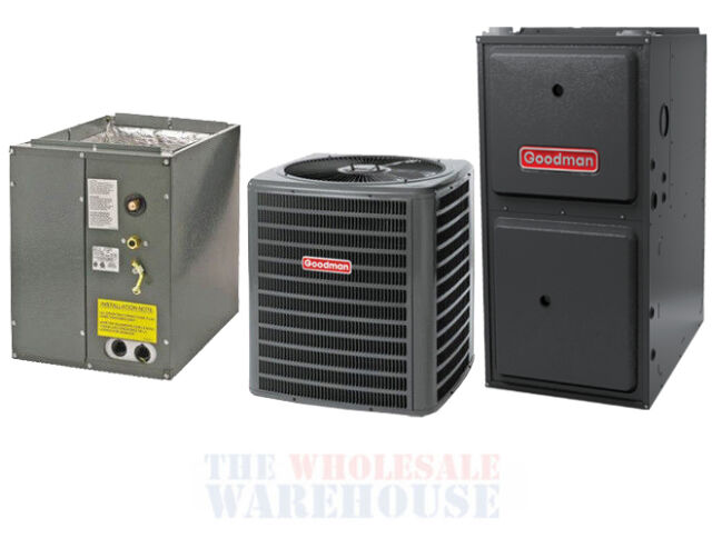 2 5 Ton 13 Seer Goodman Central Ac Unit Air Conditioning