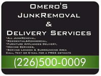Furniture Appliances Delivery and JunkRemoval